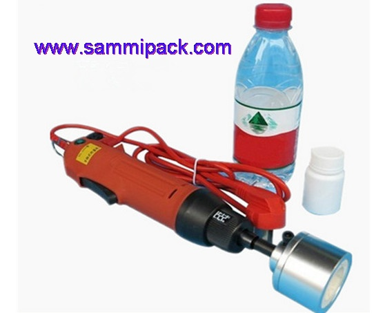 Hand held electric capping machine