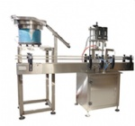 automatic bottle capping machine with cap feeder for cap diameter 20-60mm